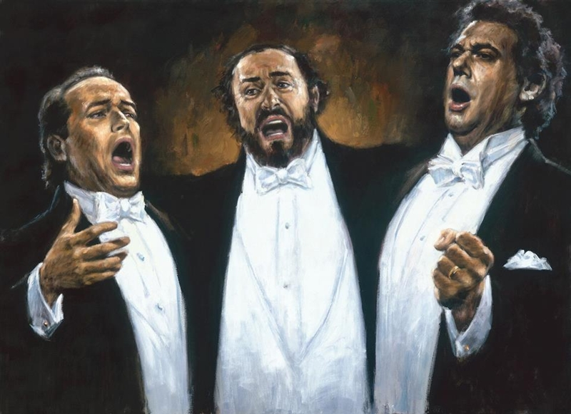 Fabian Perez 1967 - Three Tenors Tutt'Art@