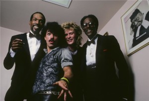 Eddie Kendricks, John Oates, Daryl Hall e Dave Ruffin.