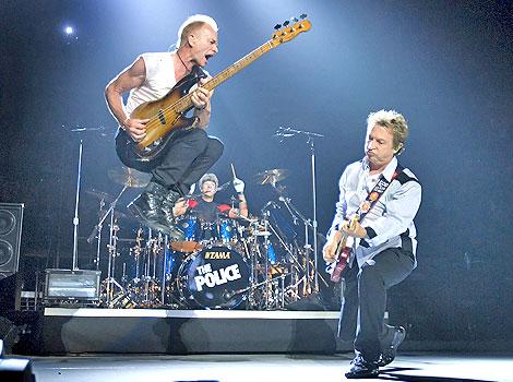 I Police sul palco del Reunion Tour del 2007.