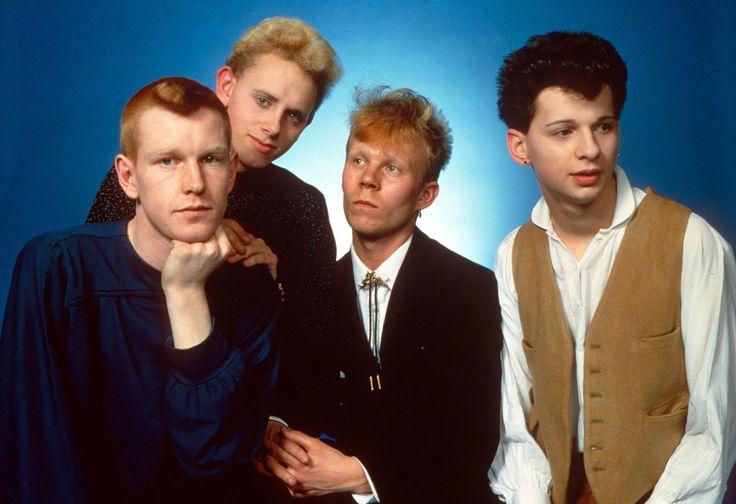 Vince Clarke (il terzo da sx) con i Depeche Mode nel 1981.