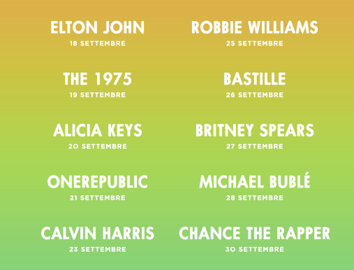 Apple music festival lineup